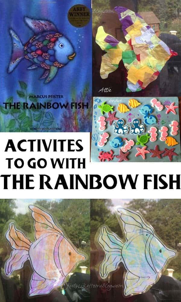 The Rainbow Fish by Marcus Pfister - 37 Fishy Activities ...